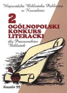 II Ogólnopolski Konkurs Literacki dla Pracowników Bibliotek