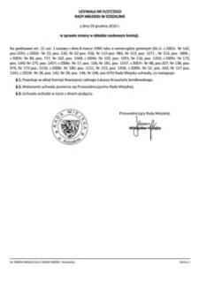 Uchwała Rady Miejskiej w Koszalinie nr IV/27/2010