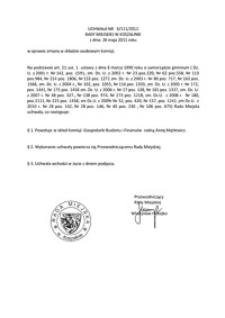 Uchwała Rady Miejskiej w Koszalinie nr X/111/2011