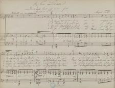 """An Carl Loewe : """"Die Orgel tönt noch immer fort"""" : Lied für eine Baßstimme mit Piano"""