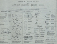 Karte des Deutschen Reiches 1:100 000