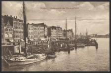 Stettin, Hafenpartie am Fischbollwerk