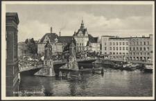 Stettin. Hansabrücke