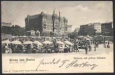 Gruss aus Stettin, Rathaus mit Grüner Schanze