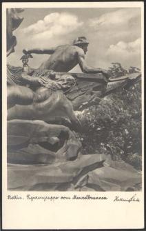 Stettin, Figurengruppe vom Manzelbrunnen