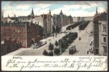 Stettin, Hauptwache und Paradeplatz