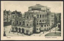 Stettin, Königsplatz, Stadttheater