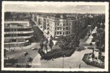 Stettin - Blick in die Bismarckstrasse