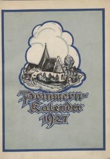 Pommern-Kalender. 1927