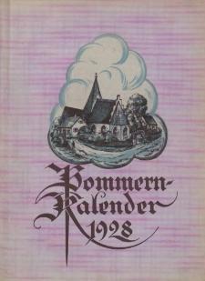 Pommern-Kalender. 1928