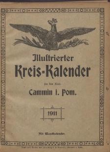 Illustrierter Kreis=Kalender für den Kreis Cammin i. Pom. 1911