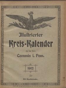 Illustrierter Kreis=Kalender für den Kreis Cammin i. Pom. 1912