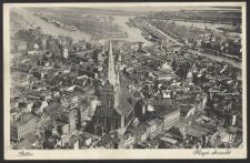 Stettin, Flieger Ansicht