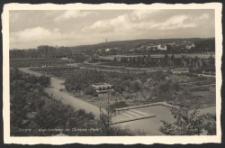 Stettin, Vogelbrunnen im Quistorp-Park