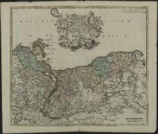 Ducatus Pomeraniae Tabula Generalis, in qua sunt Ducatus Pomeraniae, Stettinensis, Cassubiae, Vandaliae et Bardensis, Principatus Rugiae ac Insulae, Comitatus Guskoviensis, et Dominia Louwenburgense, Wolgastense et Butoviense