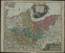 Marchionatus Brandenburgensis in quo sunt Vetus, Media et Nova Marchia et Ducatus PomeraniaeTabula quae est pars septentrionalis Circuli Saxoniae Superioris