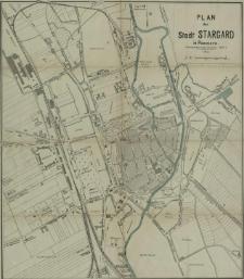 Plan der Stadt Stargard in Pommern