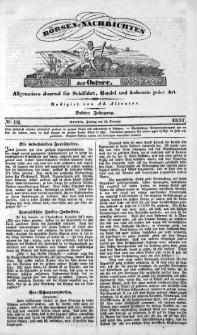 Börsen-Nachrichten der Ost-See : allgemeines Journal für Schiffahrt, Handel und Industrie jeder Art. 1837 Nr. 82