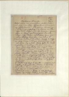 Listy Stanisława Ignacego Witkiewicza do żony Jadwigi z Unrugów Witkiewiczowej. List z 25.03.1923