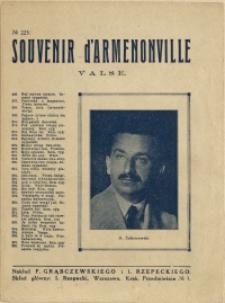Souvenir d'Armenonville : valse