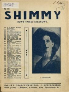 Shimmy : nowy taniec salonowy