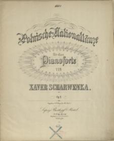 Polnische Nationaltänze : für das Pianoforte : Op. 9