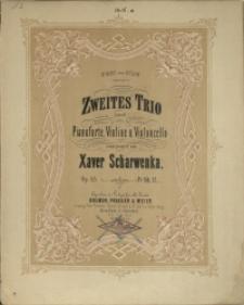Zweites Trio : A-moll : für Pianoforte, Violine u. Violoncello : Op. 45