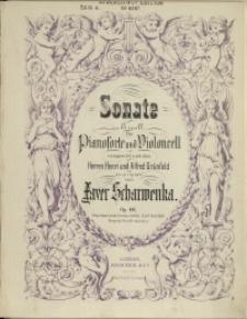 Sonate : in E moll : für Pianoforte und Violoncell : Op. 46