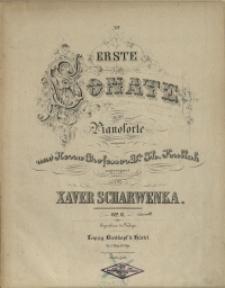 Erste Sonate : für das Pianoforte : Op. 6