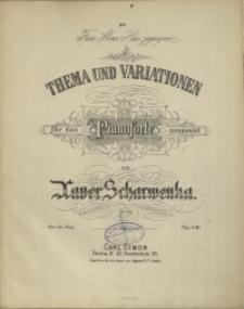 Thema und Variationen : für das Pianoforte : Op. 48