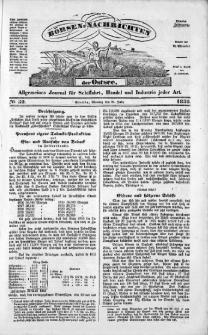 Börsen-Nachrichten der Ost-See : allgemeines Journal für Schiffahrt, Handel und Industrie jeder Art. 1838 Nr. 59
