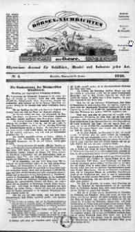 Börsen-Nachrichten der Ost-See : allgemeines Journal für Schiffahrt, Handel und Industrie jeder Art. 1840