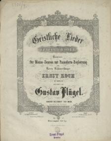 Geistliche Lieder von Friedrich Oser : Op. 52 No 7, Wie gross dein Leid auch sei