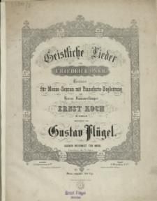 Geistliche Lieder von Friedrich Oser : Op. 52 No 8, Wenn das Leid Verschwunden