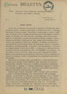 Biuletyn : Tymczasowy Zarząd Niezależnych Samorządnych Związków Zawodowych przy WiMBP w Szczecinie. 1980 nr 5