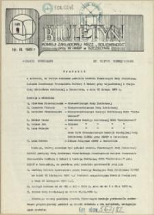 Biuletyn : Tymczasowy Zarząd Niezależnych Samorządnych Związków Zawodowych przy WiMBP w Szczecinie. 1981 nr 9