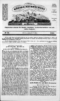 Börsen-Nachrichten der Ost-See : allgemeines Journal für Schiffahrt, Handel und Industrie jeder Art. 1840 Nr. 21