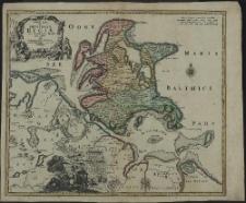 Insulae et Principatus Rugiae cum vicinis Pomeraniae, Littoribu Nova Tabula
