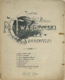 Tańce z baletu Pan Twardowski. 1, Taniec Elfów : walc