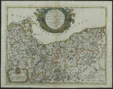 La Pomerania diuisa in Citeriore, o' Reale che spetta alla Corona et in Vlteriore, o' Ducale che apparatiene all' Elettore di Brandenburgo e Subdiuisa nelle Parti Principali