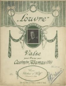 Louvre : valse : pour Piano