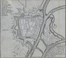 Stetin Ville forte d'Allemagne Capitale de la Pomeranie Royale, Située Sur la Riviere de l'Oder [...] avec Privil. du Roy 1693