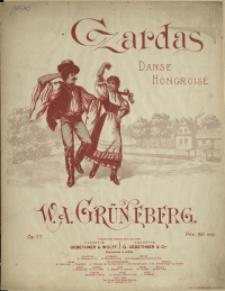 Czardas : danse hongroise : Op. 77