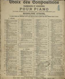 Chanson Bohemienne : Op. 138