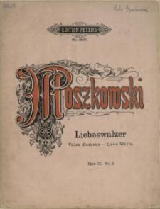 Liebeswalzer : Klavierstück : Opus 57 No 5