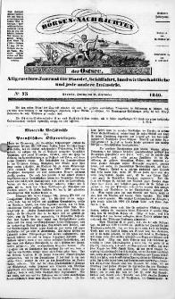 Börsen-Nachrichten der Ost-See : allgemeines Journal für Schiffahrt, Handel und Industrie jeder Art. 1840 Nr. 75