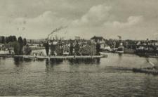 Stettin, Hafenbecken am Dünzig