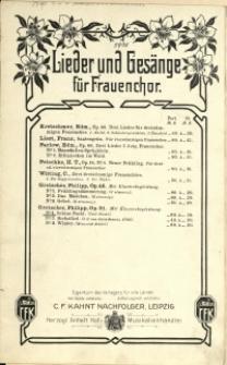 Schöne Nacht : Op. 51 No 1