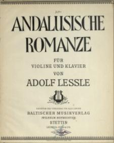 Andalusische Romanze : für Violine und Klavier