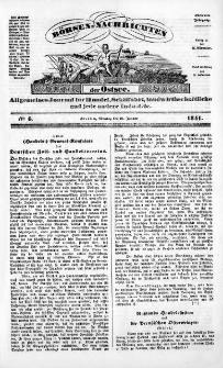 Börsen-Nachrichten der Ost-See : allgemeines Journal für Schiffahrt, Handel und Industrie jeder Art. 1841 Nr. 6